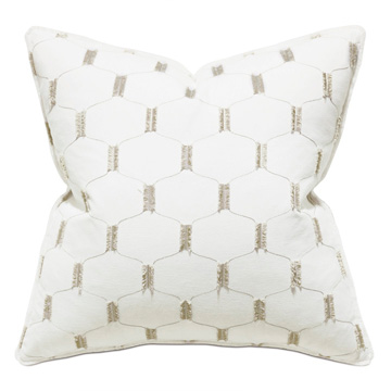 Filmore Embroidered Decorative Pillow
