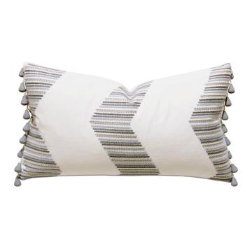 Cisero Embroidered Decorative Pillow