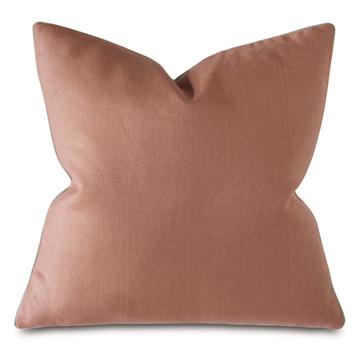 Castle Linen Decorative Pillow In Rose