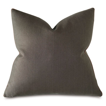 Castle Linen Decorative Pillow In Earth