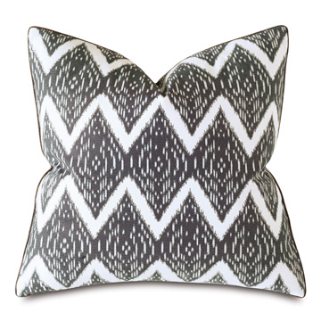Lamu Ikat Decorative Pillow