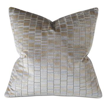 Artemis Cut-Velvet Decorative Pillow