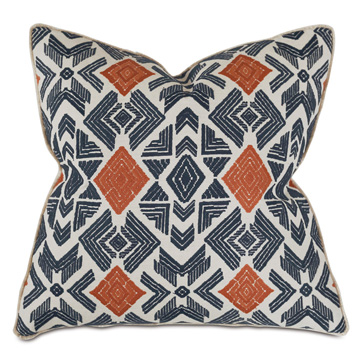 Lodi Embroidered Decorative Pillow