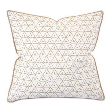 Wellfleet Brush Fringe Decorative Pillow