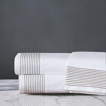 Marsden Flat Sheet In Brown