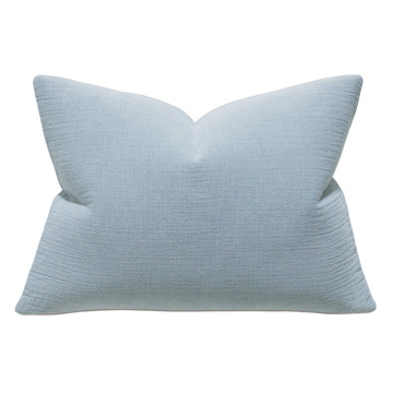 Cisero Matelasse Standard Sham In Blue