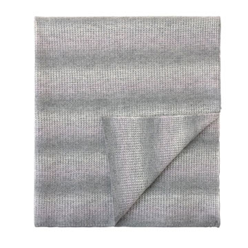Mayfair Ombre Knit Throw In Gray
