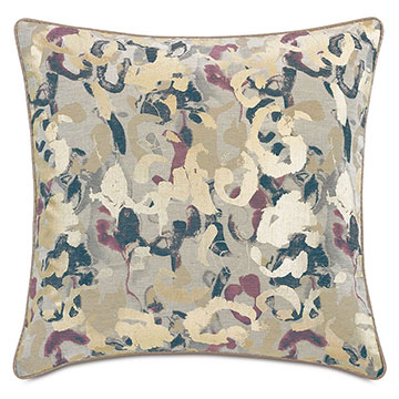 Valentina Metallic Decorative Pillow