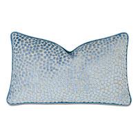 Baynes Cut Velvet Decorative Pillow