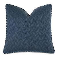 Claire Chevron Decorative Pillow