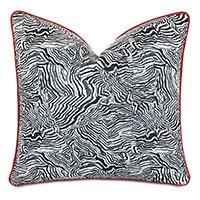 Percival Graphic Print Decorative Pillow