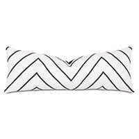 Percival Chevron Decorative Pillow