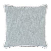Amberlynn Picot Trim Decorative Pillow