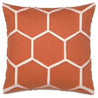 Breeze Tangerine Accent Pillow