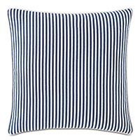 Villa Reversible Decorative Pillow in Navy