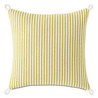 Villa Cord Knot Decorative Pillow in Lemon