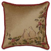 Lucerne Doves Decorative Pillow