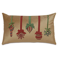 Lucerne Ornaments Decorative Pillow in Gold