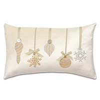 Lucerne Ornaments Decorative Pillow in Ivory