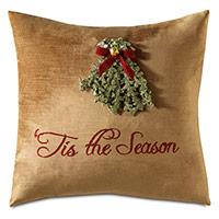 Lucerne Mistletoe Decorative Pillow