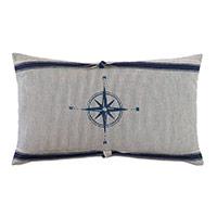 Harbor Blockprinted Decorative Pillow