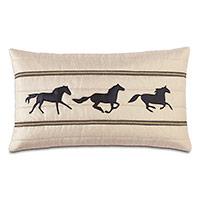 Morvich Gallop Decorative Pillow