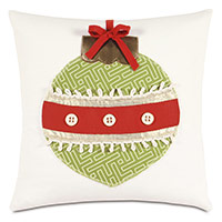 Ornament Lasercut Decorative Pillow