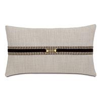 Aiden Gold Buckle Decorative Pillow