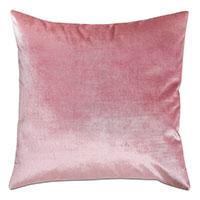 Geode Velvet Decorative Pillow in Rose Quartz