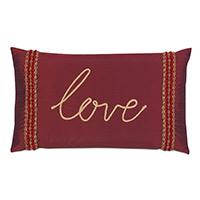 Noel Love Decorative Pillow