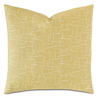 Twin Palms Abstract Decorative Pillow