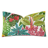 St Barths Embroidered Decorative Pillow
