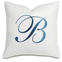 Breeze White With Monogram