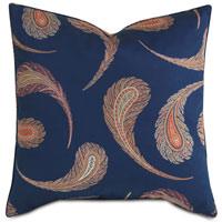 Aigrette Paisley Decorative Pillow