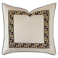 Park Avenue Metallic Decorative Pillow