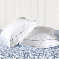 Tanner Indigo Pillowcase