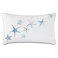 Bimini Handpainted Decorative Pillow