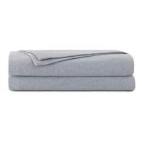 Brera Flannel Blanket In Gray