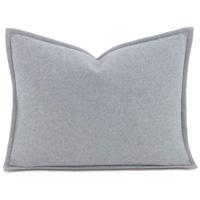 Brera Flannel Boudoir Sham In Gray