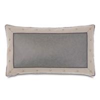 Safford Faux Leather Decorative Pillow