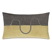 Zephyr Color Block Decorative Pillow