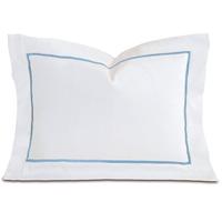 Linea Velvet Ribbon Boudoir In White & Azure