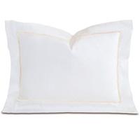 Linea Velvet Ribbon Boudoir In White & Ecru