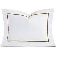 Linea Velvet Ribbon Boudoir In White & Oliva