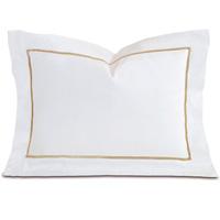 Linea Velvet Ribbon Boudoir In White & Sable