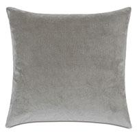 Plush Velvet Decorative Pillow In Dove
