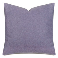Vincent Textured Decorative Pillow In Lilac