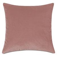 Uma Velvet Decorative Pillow In Pink