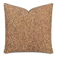 Querkus Cork Decorative Pillow In Tan