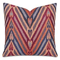 Comparsa Woven Heart Decorative Pillow